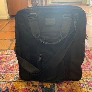 Tumi laptop shoulder and double handle bag